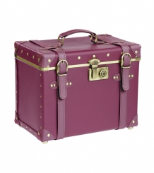 Julia-Vintage Beauty Case Marsala