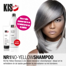 No-Yellow Shampoo - 1 Liter