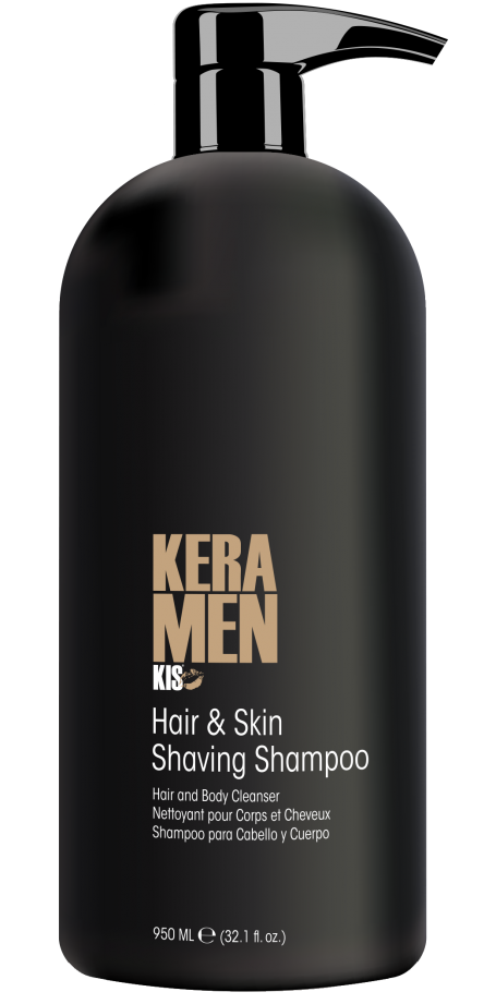 950 ml - Keramen Hair&Skin Shaving Shampoo